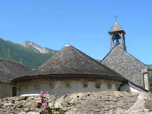 Modillon Chapelle romane de Jouers