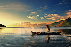 Morning Strike (Cie Shin) Tags: indonesia laketoba tongging northsumatera