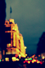 Ⓔ [22:55:45] Night Bokeh.. (- M7D . S h R a T y) Tags: lighting light london cars colors night bokeh harrods wordsbyme pokeh ®allrightsreserved™