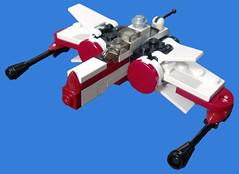 Arc-170 (tbone_tbl) Tags: star lego arc mini micro wars clone 170 arc170 microscale miniscale