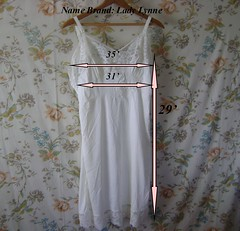 Vintage Slip (HeidiGo Lightly) Tags: vintage apron nylon slips halfslip sexyhousewife