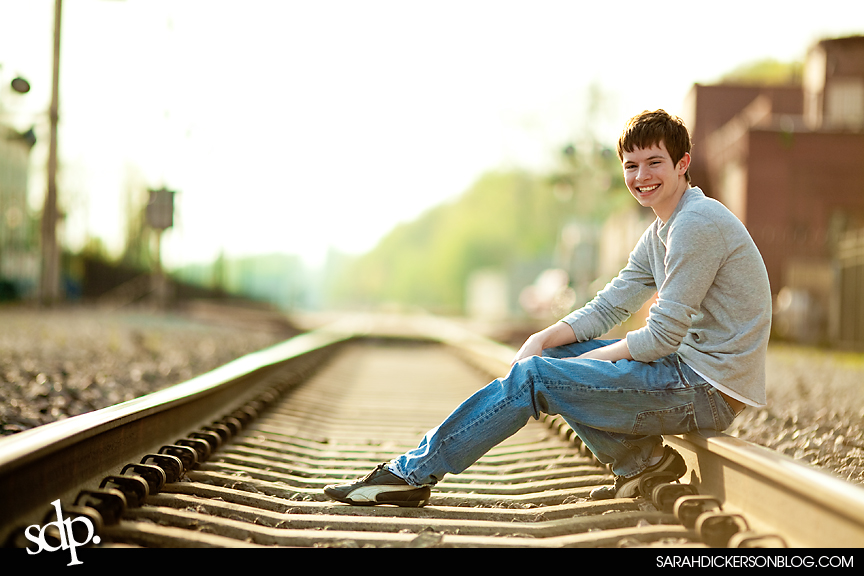senior portrait session, Parkville, Missouri