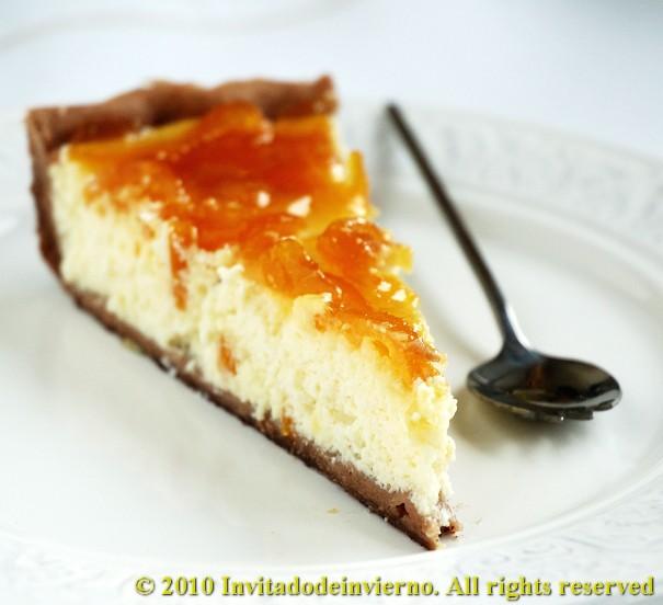 Limequat-ricotta tart 3