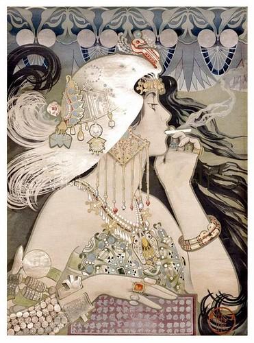 manuel orazi poster for cigarette paper