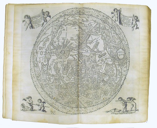 Map of the Moon from 'Selenographia'
