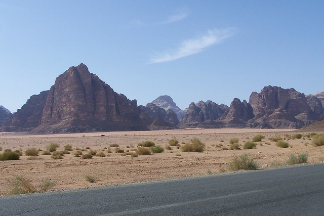Seven Pillars of Wisdom in Wadi Rum