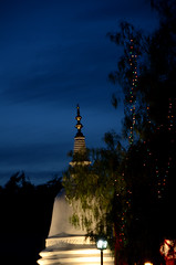 Riverside Buddhist Temple, California (Chaminda.A) Tags: california night nightshot buddhisttemple riversideca morenovalley 18105mm d7000 nikond7000