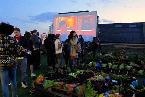 The Meatwagon at Dalston Roof Garden