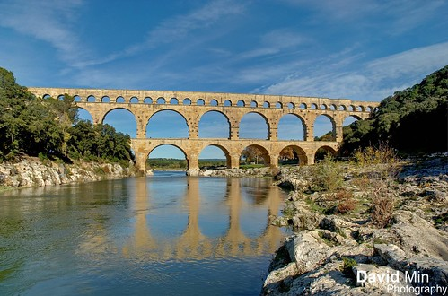 Pont du Gard, France by GlobeTrotter 2000