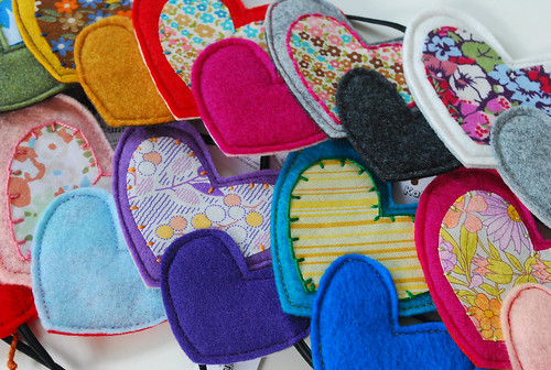 heart headbands
