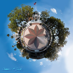 Welcome to My Little World (skippys1229) Tags: trees panorama canon buildings florida bricks gazebo townsquare ocala 2014 marioncounty hss 52weeks 70d canonef24105mmf4lisusm littleplanet marioncountyflorida ocalaflorida downtownsquare downtownocala canon70d sliderssunday 52weeksof2014 inmylocalarea