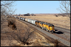 UP 1680 (golden_state_rails) Tags: up union pacific emd sd402 sd40n sd70m nebraska maxwell ne overland route triple track
