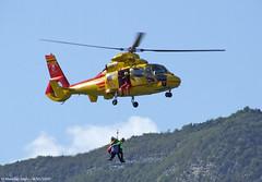 AS-365 N3 Dauphin (Semola86) Tags: airport aeroporto trento flughafen dauphin eurocopter lidt n3 mattarello as365 soccorso alpino bergrettung ipate