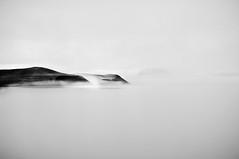 (jla ) Tags: trip blackandwhite bw mountain black 50mm iceland nikon minimalism f18 middleofnowhere mygallery mvatn d90