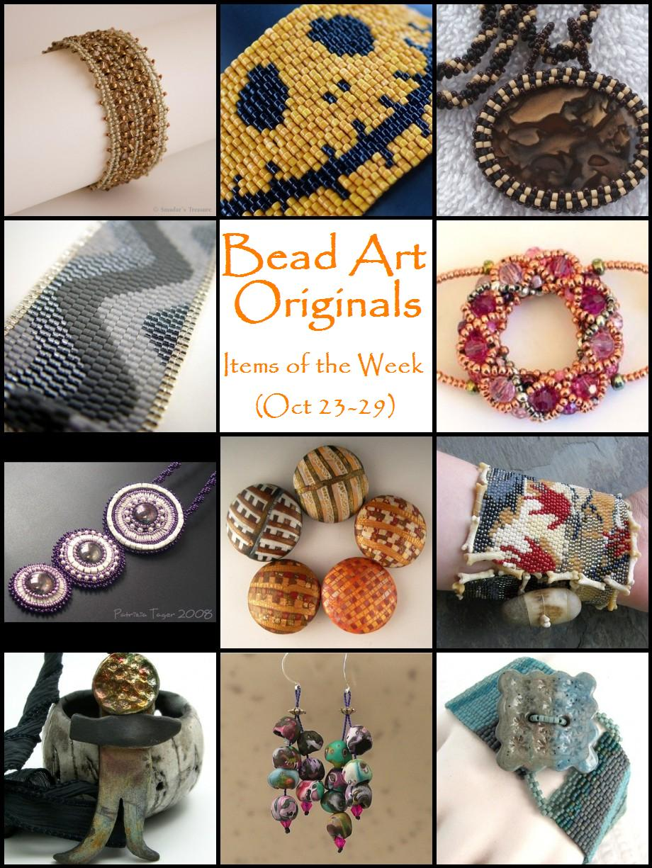 Bead Art Originals Items of the Week (Oct 23-29)
