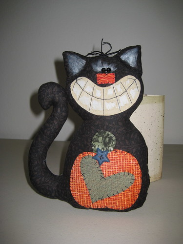 Halloween Kitty by Grandma-in-Colorado.