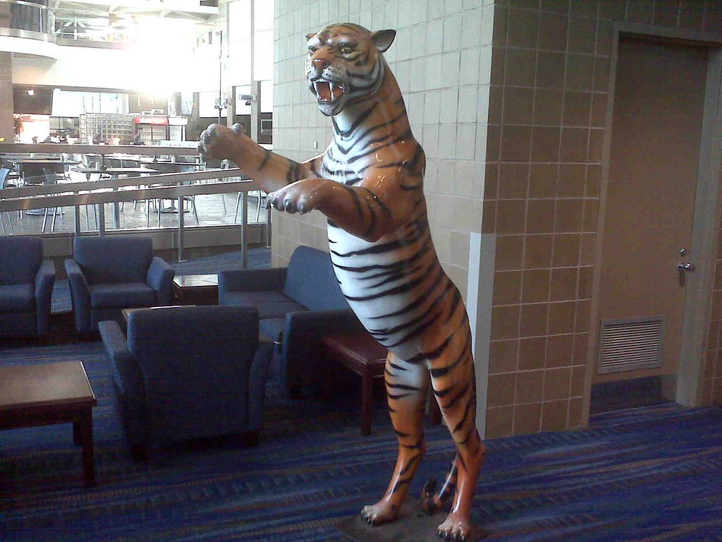 Tiger, New Orleans Convention Center