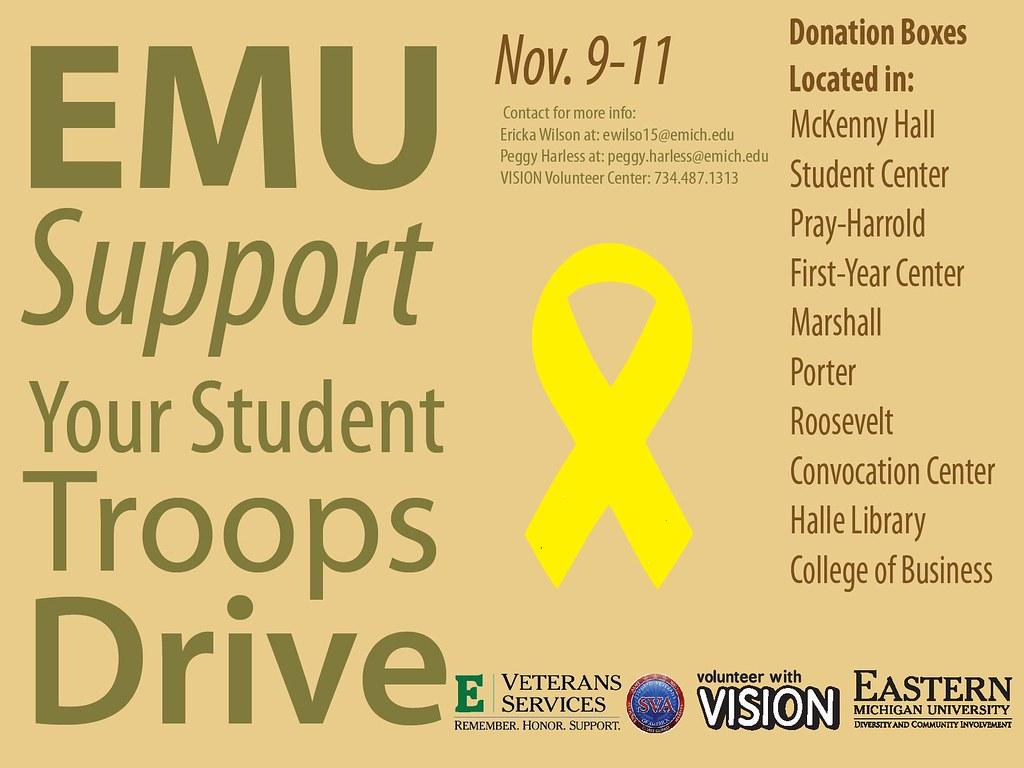 EMU Troop Drive Nov 9-11,2009