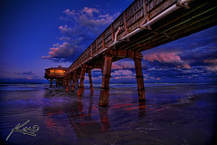 Fishing Pier Daytona Florida 3/3