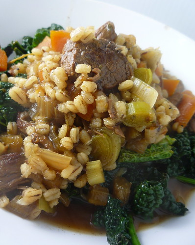 Beef Barley and Ale Stew