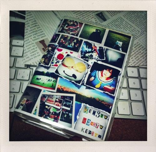 ほぼ日手帳+iPhone写真ブックカバー