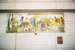 Chicago Post Office Mural - by jimmywayne