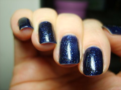 Essie Starry Starry Nights - day 4 tipwear (ballekarina) Tags: nail polish