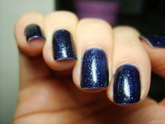 Essie Starry Starry Nights - day 4 tipwear (ballekarina) Tags: nail polish