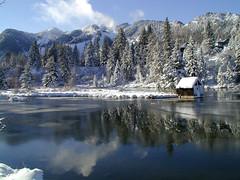 Hallam Lake Winter