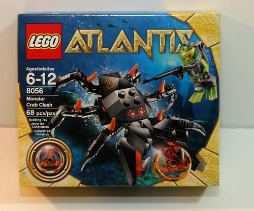 LEGO Atlantis 8056 - Box (Front)