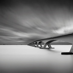 Bridge Study IV (Joel Tjintjelaar) Tags: longexposure square zwartwit fineart minimalism bwphotography dutchlandscape zeelandbrug daytimelongexposure 161803399 thegoldenratio zeelandbridge nd110 1000faves europeanbridges superaplus aplusphoto surrealisticlandscape silverefexpro bw110ndfilter tjintjelaar dutchseascape limitededitiongicleeprint monochromebridge europeanseascapes michaellevininspired zeelandhiddentreasureforlongexposurephotography bwlongexposurephotography zeelandbruginbw thisphotoisshortlistedforthesonyworldphotographyawards2010inthelandscapecategory dutchbridges shortlistlandscapeworldphotographersaward sonyworldphotographersaward2010shortlist longexposureseascapes ipaaward ipa20102ndplace internationalphotographyawards2010