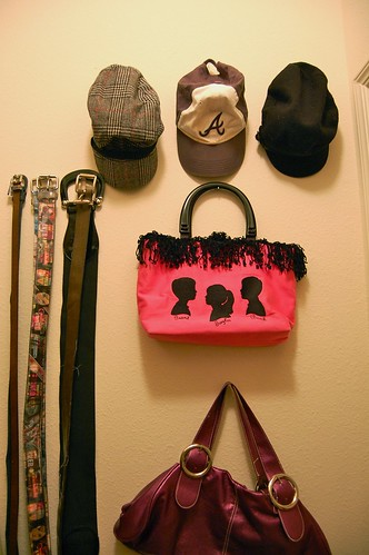hats, belts, and bags