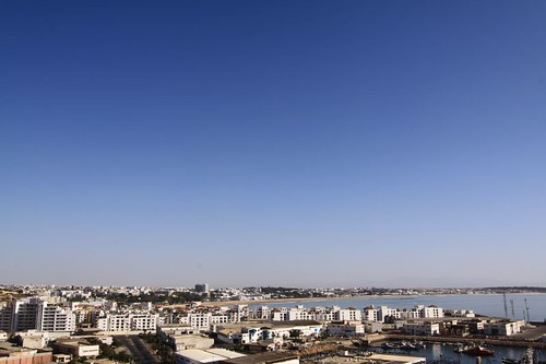 Agadir from the north...