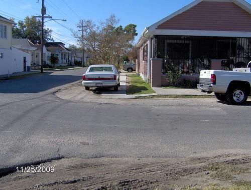 Sidewalk repairs = my new driveway