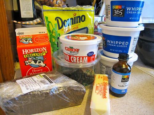 Chocolate Caramel Cheesecake: Ingredients