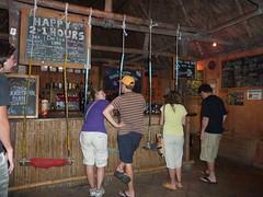The bar at El Retiro Lodge.