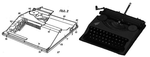 Patent DE706837C Hermes Baby