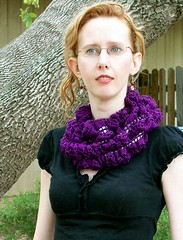 Ribbon Candy as a cowl