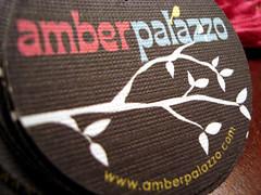 amber palazzo - hang tags
