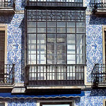 Cáceres: Casa azulejos