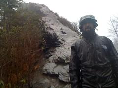 Kirk at Chimney Tops