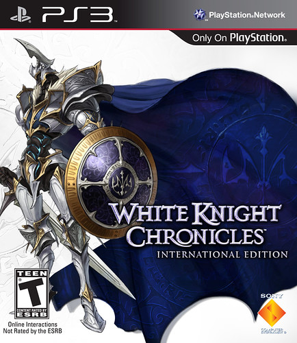 White Knight Chronicles International Edition Packfront