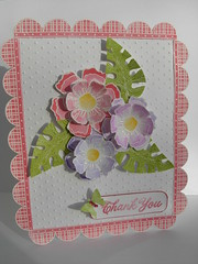 Floral Thank You (heather maria) Tags: dolls diamond gems heroarts embossing stickles watercolourpencils swissdots distressink cuttlebug scatteredleaves cl298 cl289 s5135 cl288 scallopborders wornlipstick outlineflowers 2010inspiration