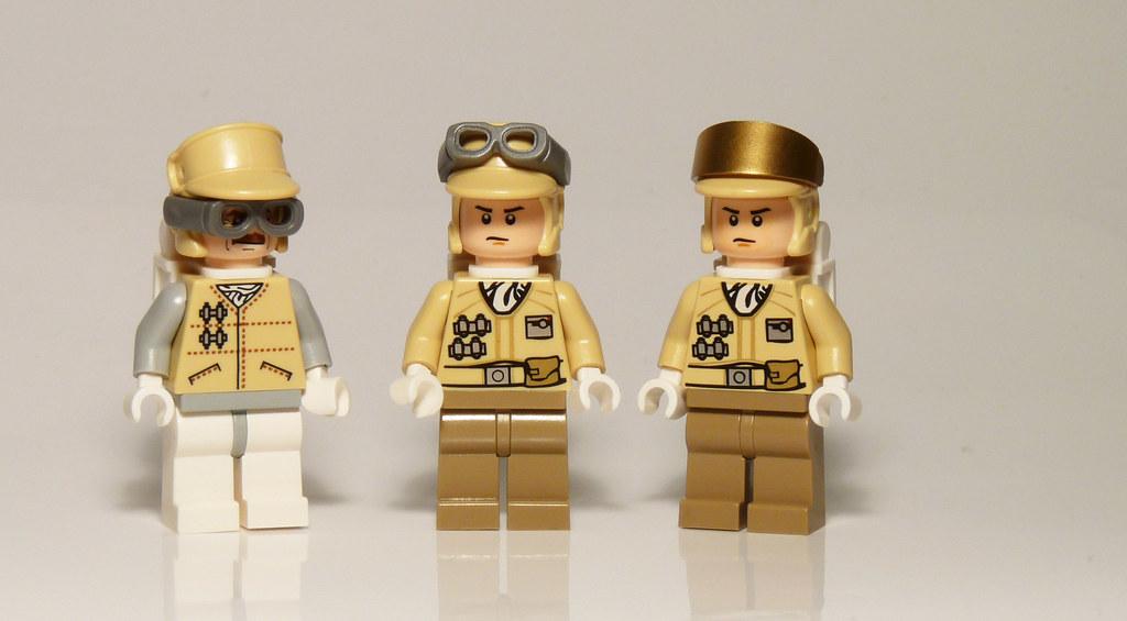 8083 - Rebel Trooper Battle Pack - 2010 LEGO Star Wars - new rebel hat with alternate Visors