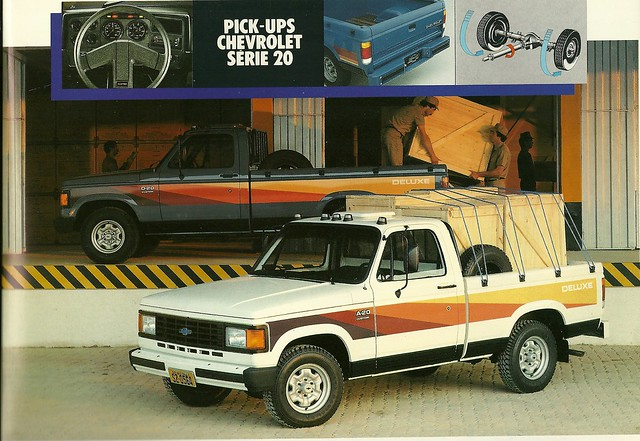 chevrolet truck ads advertising gm pickup commercial vehicle 1989 c20 brochure generalmotors