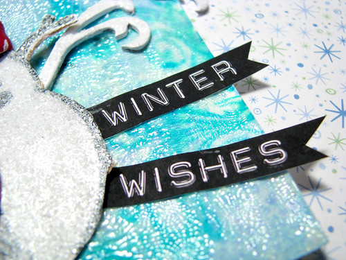 Winter Wishes Tag :: Text