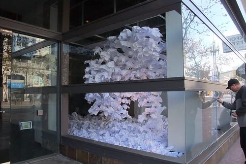 paper snow?