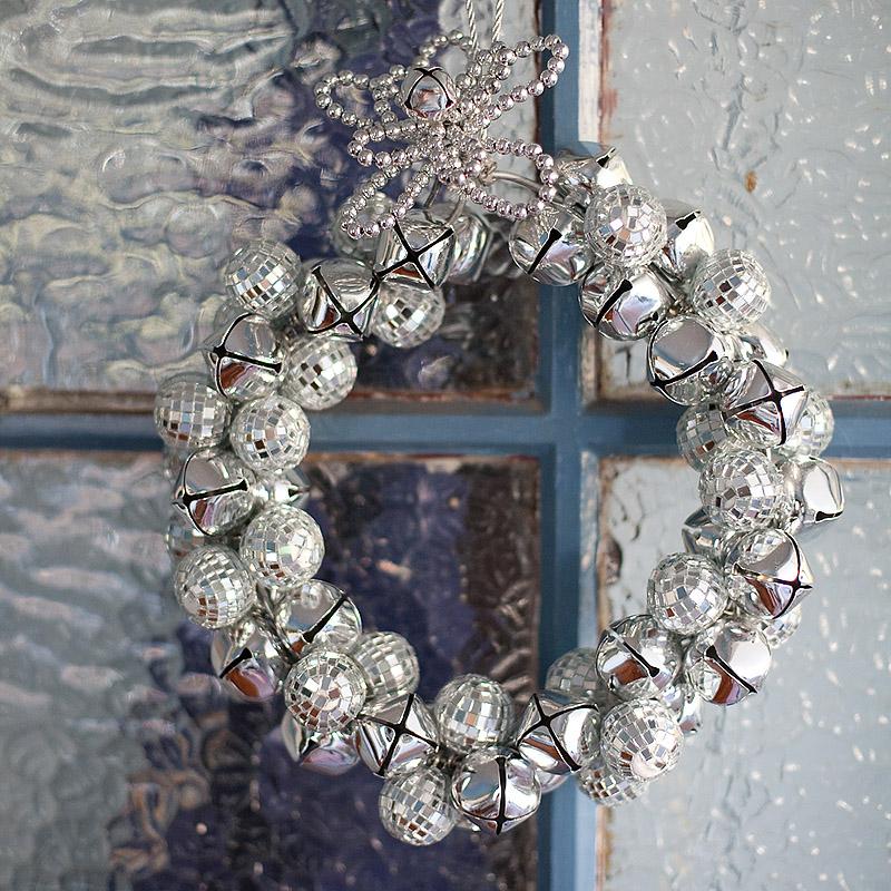 Jingle Jangle Disco Wreath