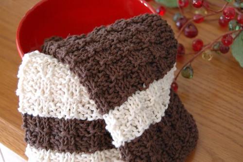 waffle knit cloths