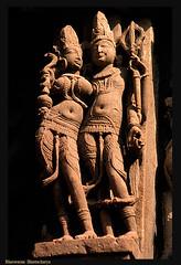 Lord Shiva & Parvati - Khajuraho (bhaswaran) Tags: sculpture india art architecture temple ancient pradesh khajuraho madhya